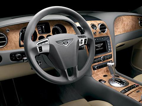 2009 Bentley Continental Flying Spur Speed interior