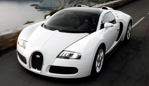 2009 Bugatti 16.4 Veyron Grand Sport front view