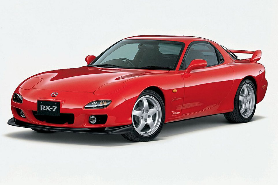 The Mazda RX-7 is a car model
