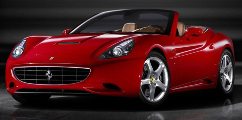 Ferrari California in Red