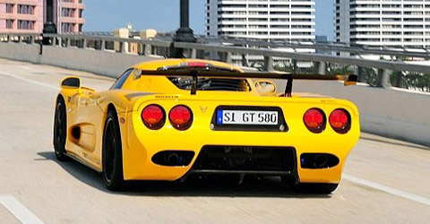 Mosler MT900 GTR XX back view