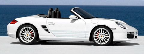 Porsche Boxster S Design Edition 2 side view