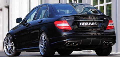 2008 Brabus B63 S back view