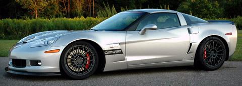 2008 Katech Corvette Z06 ClubSport side view