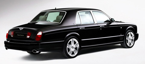 2009 Bentley Arnage Final Series back view