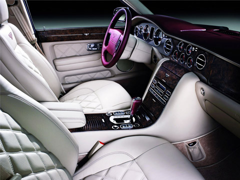 2009 Bentley Arnage Final Series interior