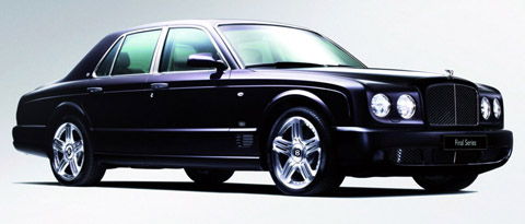 2009 Bentley Arnage Final Series black
