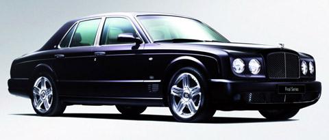 2009 Bentley Arnage Final Series black
