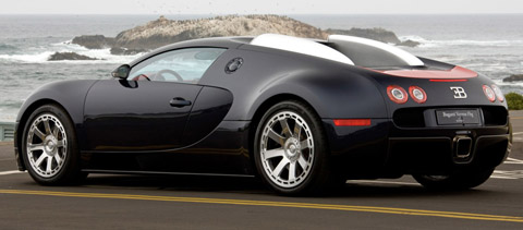 2009 Bugatti 16.4 Veyron Fbg par Hermes side view