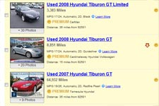 Used Hyundai Tiburon For Sale Buy Cheap Pre Owned Hyundai