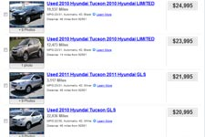 Used Hyundai Tucson For Sale Buy Cheap Pre Owned Hyundai Cars