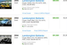 Lamborghini Gallardo For Sale Buy Used Cheap Lamborghini Cars