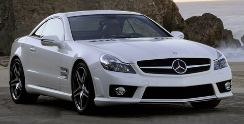 Mercedes Benz SL 65 AMG front view