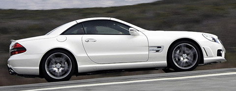 Mercedes Benz SL 65 AMG side view