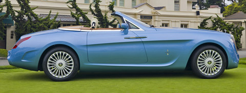 Rolls Royce Pininfarina Hyperion side view