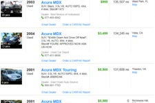 Acura   Sale on Used Acura Mdx For Sale  Buy Cheap Pre Owned Acura Cars