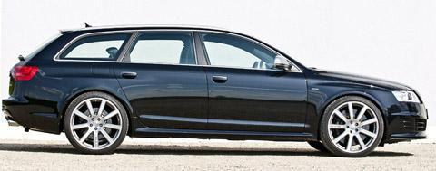 2008 MTM RS6 R black side view