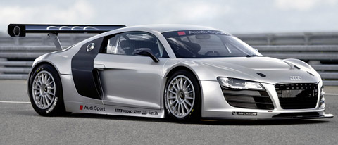 2009 Audi R8 GT3 side view
