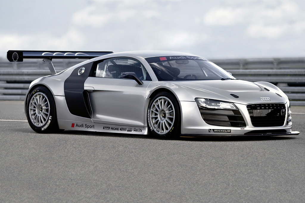 With the Audi R8 we will offer customers a racing sports car equipped with