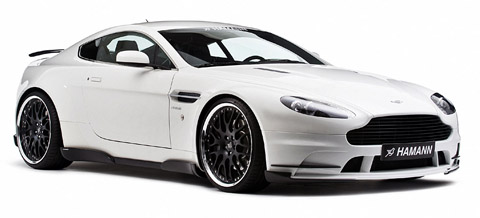 2009 Hamann Aston Martin V8 Vantage white side view
