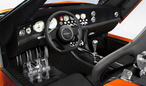 2009 Spyker C8 Laviolette LM85 interior