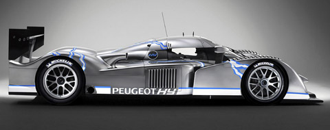 Peugeot 908 HDI FAP side view
