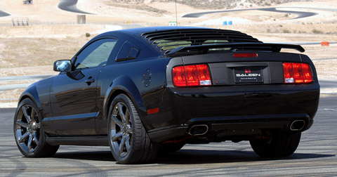 Saleen Dark Horse Extreme Mustang Back View