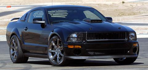 Saleen Dark Horse Extreme Mustang