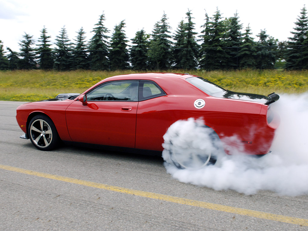 The Dodge Challenger SRT10