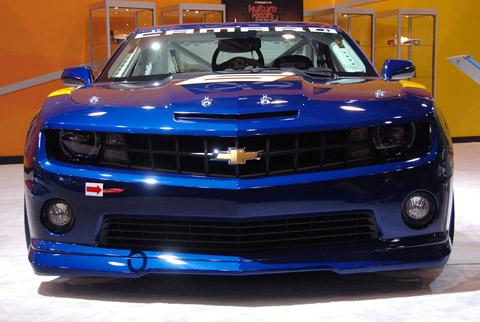 2010 Chevrolet Camaro Gs Racecar Concept Pictures Review