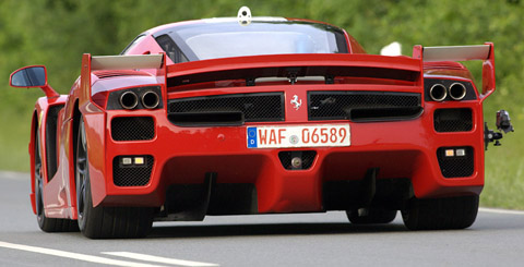 Ferrari FXX Sport Car Picture