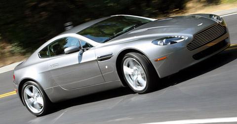 1992 Aston Martin V8 Vantage. 2009 Aston Martin V8 Vantage