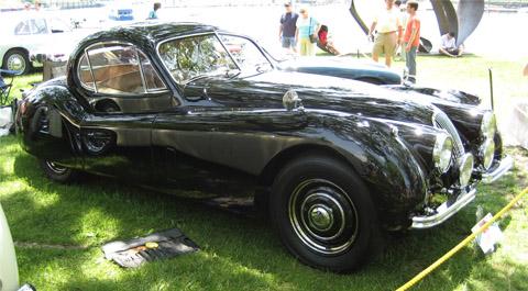 1953 Jaguar XK120 Coupe Black