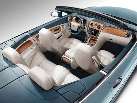 2009 Bentley Continental GTC Speed interior