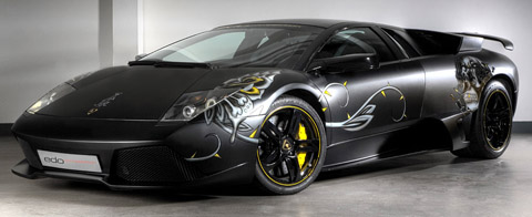 2009 Edo Competition Lamborghini Murcielago LP710 Audigier Edition