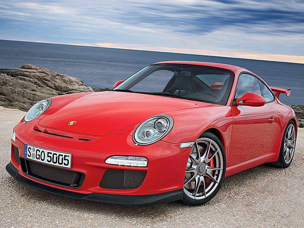 Red Porsche Car Porsche 911 gt 3 Red Front
