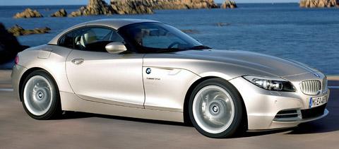BMW Z4 sDrive35i side view