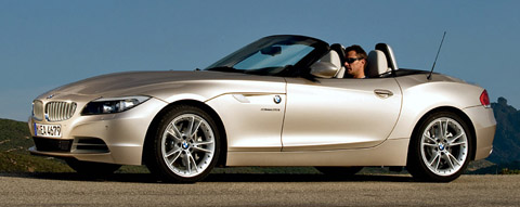 BMW Z4 sDrive35i front view