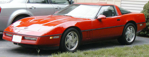 Chevrolet Corvette C4 red