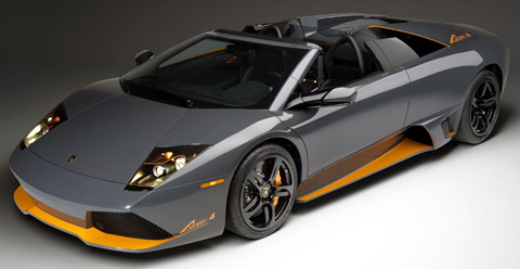 Lamborghini Murcielago LP650-4 Roadster front view