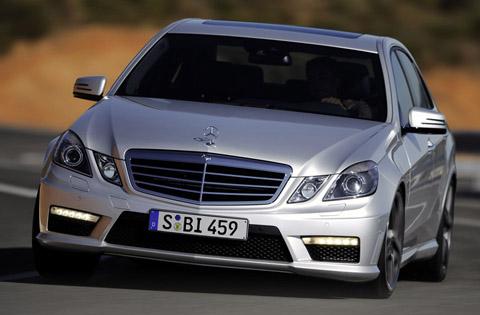 Mercedes-Benz E63 Front View