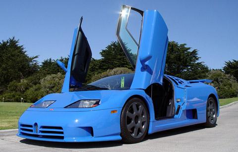 1994 Bugatti EB110 SS Doors Open