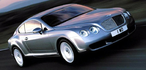 2003 Bentley Continental GT side view