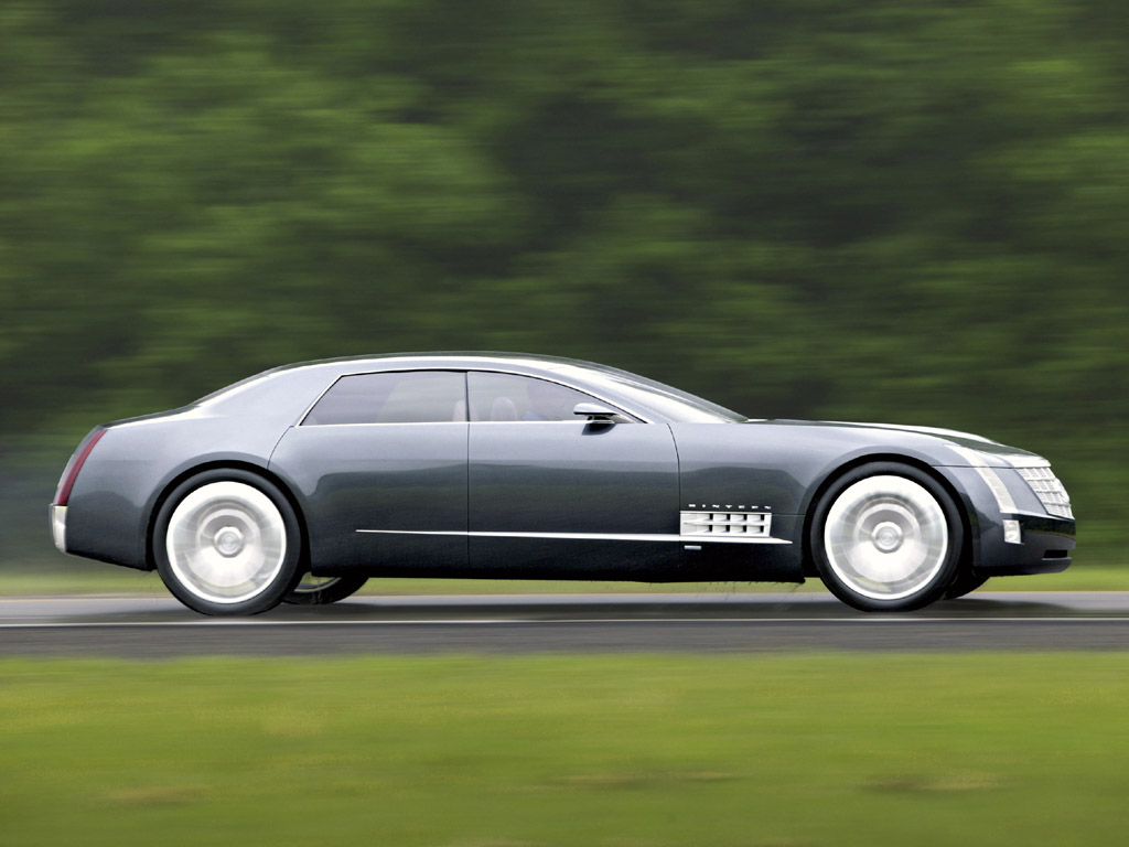 Cadillac Six Concept Side View
