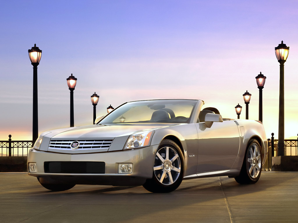 The 2004 Cadillac XLR is a two seat high performance luxury roadster.