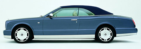 2005 Bentley Arnage Drophead Coupe Concept side view