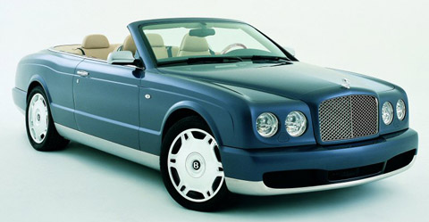 2005 Bentley Arnage Drophead Coupe Concept