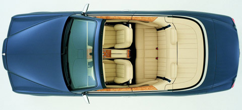 2005 Bentley Arnage Drophead Coupe Concept top view