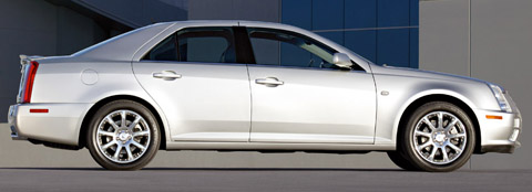 Cadillac STS Side View
