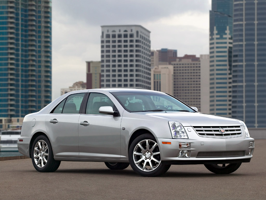 Cadillac STS Full Background and Wallpapers